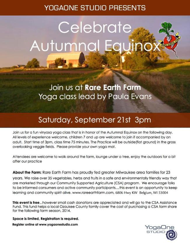 Farm Yoga 2013