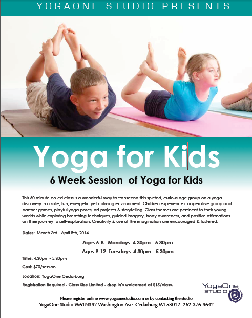 Kids Yoga 2014