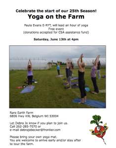Yoga on the Farm